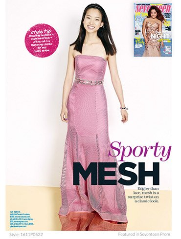 Prom Dresses Featured In Seventeen Magazine 4